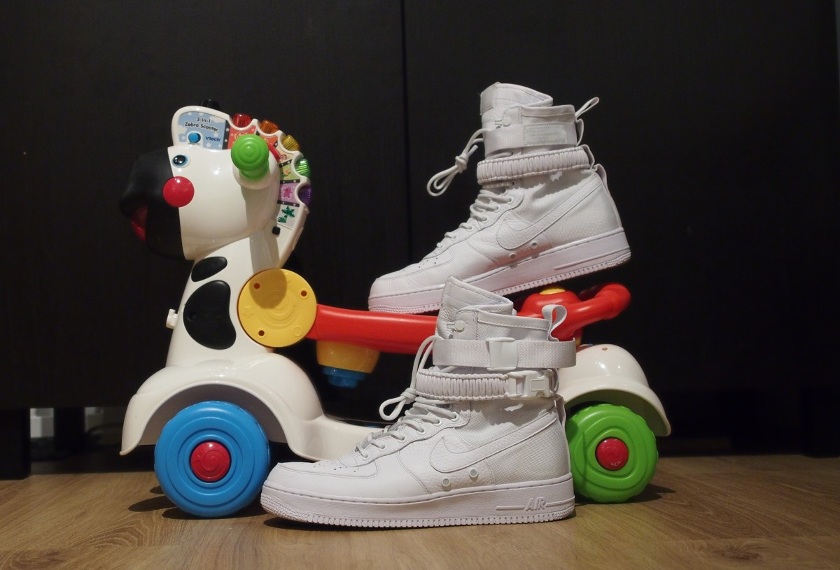White Sneakers – The Bane of Parenthood for a Sneakerhead